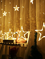 Недорогие -2,5м Гирлянды - светодиоды Тёплый белый Для вечеринок / Декоративная 5 V