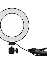 Недорогие -Новый 6-дюймовый светодиодный кольцевой свет Tiktok Light YouTube видео живого вещания Селфи заполнить круглая лампа с затемнением 3 режима освещения Селфи заполнить лампа USB 1 шт.