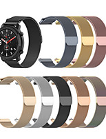 cheap -Milanese Loop Strap for amazfit pace / stratos / GTR 47mm Stainless Steel Bracelet 22mm