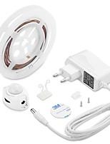 Недорогие -1м гибкие светодиодные полосы света гибкие огни тикток 30 светодиодов 2835 smd теплый белый декоративный / фон для ТВ 12 В