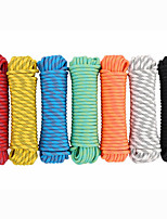 cheap -Paracord Antiskid Portable Scratch Resistant Wearproof Durable Nylon Fiber Camping / Hiking Climbing Outdoor Exercise Camping / Hiking / Caving Traveling White Black Red Yellow Orange 1 pcs