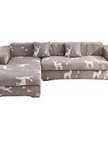 Недорогие -milu олень печать пыленепроницаемый всесильный чехлы на стрейч чехол для дивана супер мягкая ткань чехол для дивана с одной бесплатной наволочкой