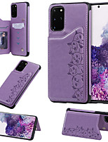 cheap -Case For Samsung Galaxy S20 Plus / S20 Ultra / S20 Wallet / Card Holder / Shockproof Back Cover Animal PU Leather