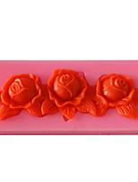 cheap -1pcs Mold Cake 3D Decoration Fudge Biscuit Mold DIY