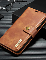 cheap -DG.MING Business Magnetic Flip Leather Case For Samsung Galaxy S10 / S9 / S8 / S10 Plus / S9 Plus / S8 Plus With Wallet Card Slot Stand Detachable For Samsung Galaxy S10e / S10 5G Case Cover