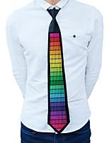 Недорогие -Прямоугольный Светящийся галстук Ночные светильники Портативные / светодиодов / обожаемый Включение / выключение 1шт