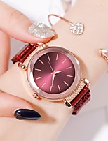 cheap -Ladies Quartz Watches Elegant Fashion Black Blue Red Alloy Chinese Quartz Rose Gold Purple Red New Design Casual Watch 1 pc Analog One Year Battery Life