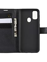 Недорогие -Чехол для телефона naxtop tpu и из искусственной кожи с откидной крышкой, защитный чехол для карт памяти для Samsung Galaxy Note 10 plus / m30s / m30 / m20 / m10
