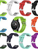 Недорогие -Ремешок для часов для Fenix 5s / Fenix 5S Plus / Fenix6s Garmin Спортивный ремешок силиконовый Повязка на запястье