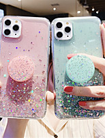 cheap -Case For Apple iPhone 11 / iPhone 11 Pro / iPhone 11 Pro Max with Stand / Glitter Shine Back Cover sky TPU