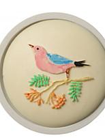 Недорогие -3d diy торт для выпечки жаворонка птица помадка плесень жидкий силикон 1 шт.