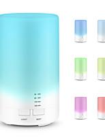 Недорогие -USB ароматерапия эфирное масло диффузор портативный увлажнитель аромата освежитель воздуха с 7 красочными светодиодными огнями для офиса домой автомобиль автомобиль путешествия белый