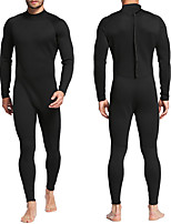 cheap -MYLEDI Men's Full Wetsuit 2mm SCR Neoprene Diving Suit Windproof Anatomic Design Long Sleeve Back Zip Patchwork Solid Colored Autumn / Fall Spring Summer / Winter / Stretchy