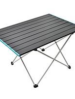Недорогие -Открытый портативный сверхлегкий алюминиевый сплав складной стол для пикника кемпинг алюминиевый патио стол 68 * 46.5 большой