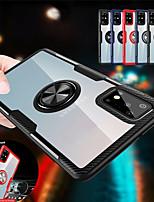Недорогие -чехол для samsung galaxy s20 / s20 plus / s20 ultra ring прозрачный защитный чехол для телефона samsung galaxy a71 / a51 / a70 / note 10 / note 10 plus / a51 / a40 / a30 / a10