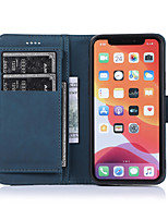 cheap -Case For Apple iPhone 11 / iPhone 11 Pro / iPhone 11 Pro Max Wallet / Card Holder / Shockproof Full Body Cases Tile PU Leather