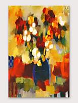 Недорогие -iarts® ручная роспись абстрактной масляной живописи с натянутой рамкой для украшения дома