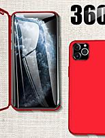 Недорогие -360 градусов полный чехол для телефона iphone 11 pro max xr xs max x защитный чехол для iphone 8 плюс 7 плюс 6 плюс чехол со стеклом