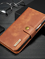 cheap -DG.MING Business Magnetic Flip Leather Case For iPhone 11 / 11 Pro / 11 Pro Max With Wallet Card Slot Stand Detachable For iPhone Xs Max / Xr / Xs / X Case Cover