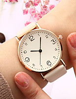 cheap -Ladies Quartz Watches Elegant Fashion Black Red Brown PU Leather Chinese Quartz Light Brown Lace Red Brown New Design Casual Watch 1 pc Analog One Year Battery Life