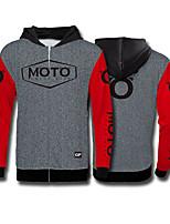 Недорогие -moto gp polyster мотоцикл джерси мотокросс флисовый свитер езда одежда скоростной спуск одежда спорт на открытом воздухе повседневная куртка мото