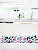Недорогие -Пейзаж / Цветочные мотивы / ботанический Наклейки Простые наклейки Декоративные наклейки на стены, PVC Украшение дома Наклейка на стену Стена Украшение 1шт