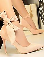 Недорогие -Жен. Обувь на каблуках На шпильке Заостренный носок Полиуретан Весна лето Верблюжий / Красный / Розовый
