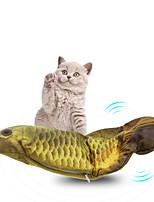 Недорогие -Плюшевые игрушки Веревки Коты Животные Игрушки Фокусная игрушка Плюш Подарок