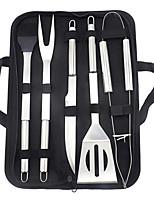 Недорогие -Принадлежности для барбекю 6-кусок инструмент открытый переносной набор для выпечки сумка на месте