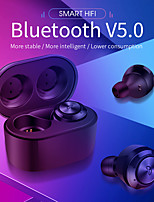 cheap -A6 TWS Bluetooth5.0 Wireless Earbuds HIFI Voice Sport Ear Stereo Cordless Sweatproof Earphones with 300 mAh Charging box