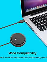 cheap -USB omni-directional condenser microphone microphone for meeting conference business laptop direct voice pickup