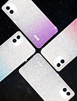 Недорогие -Кейс для Назначение Apple iPhone 11 / iPhone 11 Pro / iPhone 11 Pro Max IMD Кейс на заднюю панель Плитка / Мультипликация ТПУ