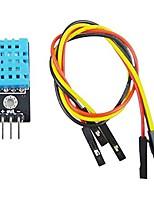 Недорогие -Модуль датчика температуры и относительной влажности dht11 с кабелем r2b7