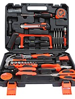 cheap -Hardware Tool Combination Set Household Toolbox Manual Tool Set Repair General Household Hand Tool Kit with Plastic Toolbox Storage Case 24PCS Set