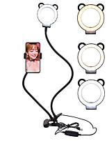 Недорогие -селфи кольцо с подставкой для мобильного телефона подставка двойной шланг заливной свет кронштейн ленивый кронштейн лампа настольная лампа прикроватная лампа живой эфир офисная кухня usb 1шт