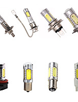 cheap -H1 H3 H4 H7 H8 H11 1156 1157 T20 7443 LED Car Headlight Car Fog Lamp Bulb High Power 7.5W Chipsets 12V DC 350 Lumen 6000k HID White Projection Bulb 2PCS