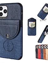 Недорогие -iphone11pro может быть вставлен пакет карт с контрастным цветом, мобильный телефон оболочки xs макс. четыре угла анти-капли может поглотить магнитный автомобиль 6/7 / 8plus защитная оболочка