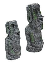 Недорогие -украшение остров пасхи каменная статуя смола озеленение ремесла античный римский портрет