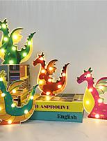 Недорогие -1x мультфильм светодиодный ночной светильник висит рабочий стол на батарейках милый свет дети подарок прикроватная дорожка дракон форма декоративный стиль животных