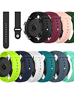 cheap -18mm Silicone Watchband for Fossil Women's Sport / Charter HR / Gen 4 Q Venture HR / Gen 3 Q Venture Smartwatch Strap Band Bracelet