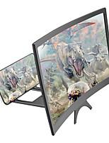 Недорогие -12-дюймовый HD-дисплей с большим экраном проекционный усилитель для мобильного телефона усилитель для мобильного телефона усилитель
