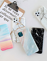 cheap -Case For Apple iPhone 11 /11 Pro /11 Pro Max/XS Max/XS/XR/X/8P/7P/8/7 Shockproof / Plating Back Cover Marble TPU