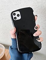 Недорогие -Кейс для Назначение Apple iPhone 11 / iPhone 11 Pro / iPhone 11 Pro Max С узором Чехол Однотонный ТПУ
