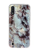 cheap -Case For Samsung Galaxy A71 / S20 Plus / S20 Ultra Ultra-thin / Pattern Back Cover Marble TPU For Samsung Galaxy S20/A01/A11/A21/A41/A51/A70E