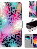 Недорогие -Кейс для Назначение SSamsung Galaxy S9 / S9 Plus / S8 Кошелек / Бумажник для карт / со стендом Чехол Пейзаж Кожа PU / ТПУ