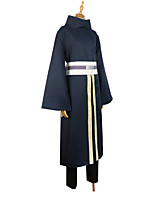 cheap -Inspired by Naruto Uchiha Sasuke Anime Cosplay Costumes Japanese Outfits Cloak For Men's Women's