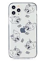 Недорогие -чехол для apple iphone 11 / iphone 11 pro / iphone 11 pro max ультратонкий / прозрачный / узор с задней обложкой слово / фраза ТПУ для iphone xr / xs max / x / 7/8 plus / 6 / 6s plus