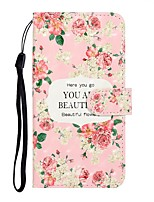 cheap -Case For Samsung Galaxy S10/S10 Plus /A50 Wallet / Card Holder / with Stand Full Body Cases Flower PU Leather For Galaxy S10E/S20 Ultra/A01/A11/A21/A41/A51/A71/A20E/A30S