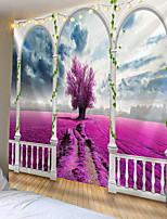Недорогие -Мандала индийский гобелен гобелен романтическая вишня туманный богемный коврик для йоги главная спальня искусство гобелен