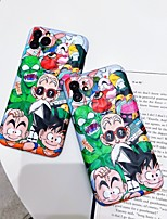 cheap -Case For Apple iPhone 11 / iPhone 11 Pro / iPhone 11 Pro Max Shockproof / IMD / Pattern Back Cover Tile / Cartoon PC